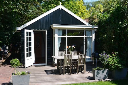 Charming cottage near A'dam & beach - Kisház
