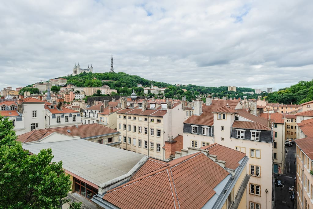 A room with a view in heart of Lyon