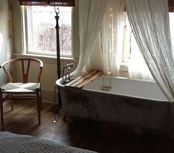 NEST INN. Queen Room - Narrowsburg - House
