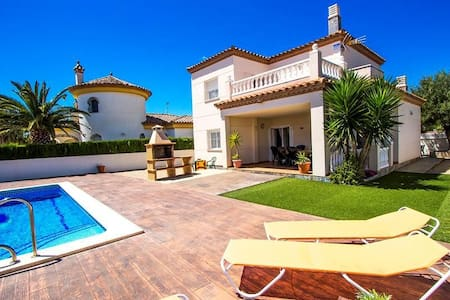 Incredible villa for 6 guests in Miami Platja, only 1.5km from the beach! - Costa Dorada