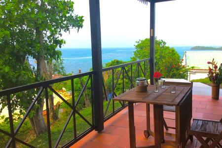Bungalow vue mer - Bungaló