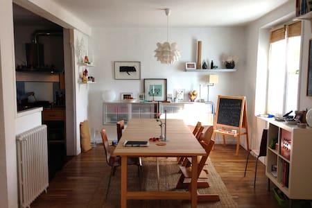 Maison chaleureuse près de Brest - Huis
