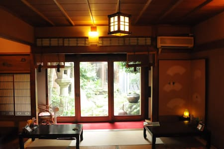 Pure Japanese-style Miyadaiku House near airport - Rumah