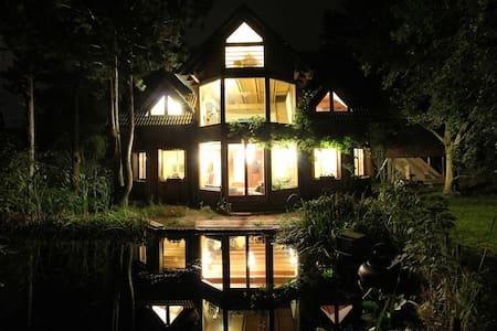 Wooden house near Wachau. - Ház