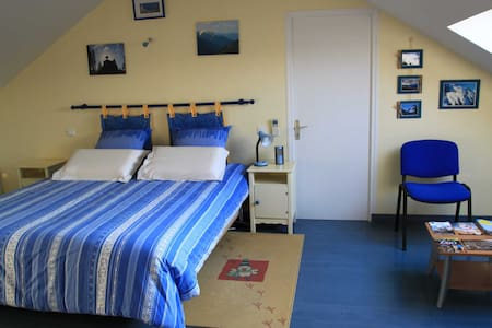 Chambre gd confort 15 mn de la mer - Bed & Breakfast