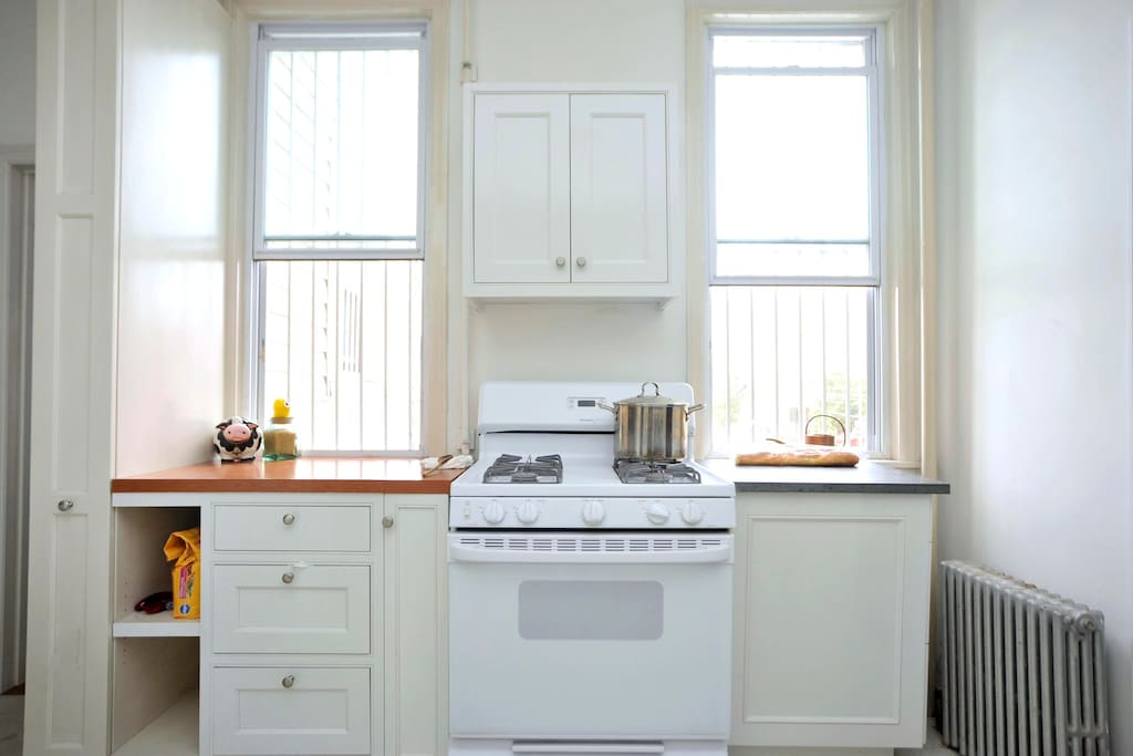 Stove counter space