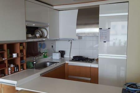 Modernly furnished 1 bedroom apart.