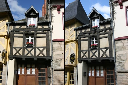 Historical house in Josselin - House