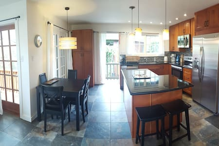 NEW! 2+ bed 2 houses from beach Waimanalo Hideaway - Waimanalo - Hus