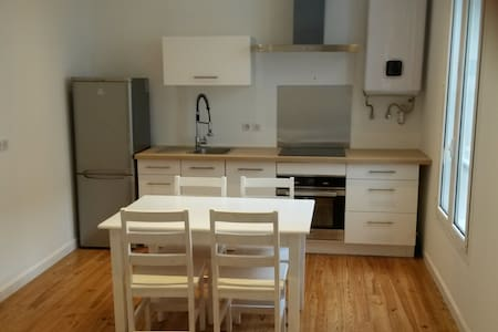 Quiet 2 bedrooms apartment in the very center - Lejlighed