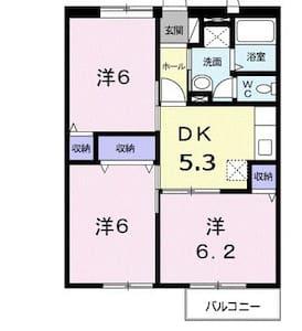 布団 テレビ 駐車場 有 - 宇部市 - Apartment