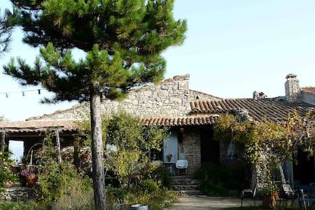 Maison en plein coeur du Luberon - saignon - Maison
