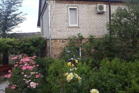 Двухэтажный дом с русской баней - Huis