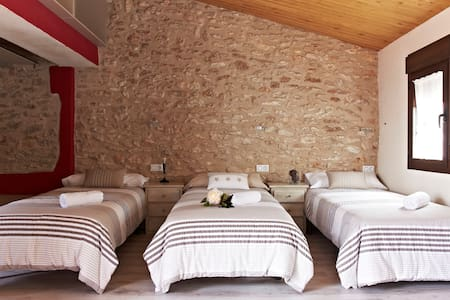 cal Vibo village house rental - Vilabella