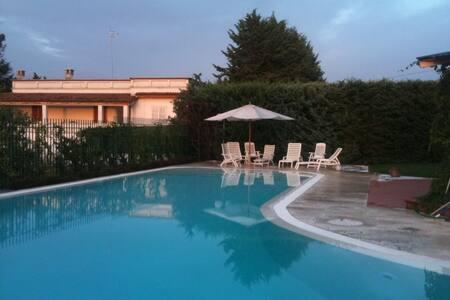 Exclusive apartments in villa.