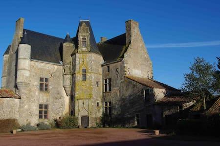 Château MARIAGE -PUYFOU/FUTUROSCOPE: 32 lit-bedmax - Thouars