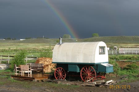 Cozy Sheepherders Wagon