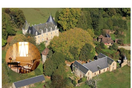 Domaine de Forsac - The Yellow Room - Benayes - Bed & Breakfast