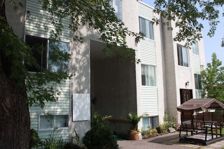 35 room dorm style building,