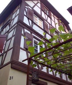 Altstadtwohnung am Oberen Stadttor - Gengenbach - Casa