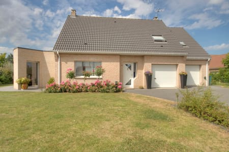 Near  Bergues, nice modern house - Penzion (B&B)