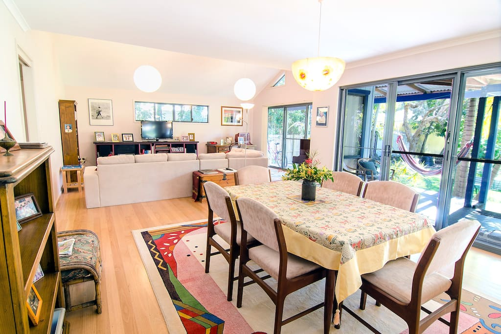 Byron Bay Home in quiet leafy area