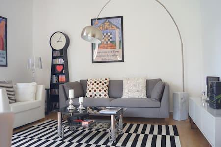 Cozy apartment with garden - Lejlighed