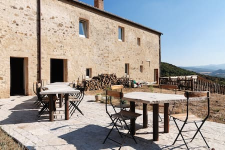 VAL D'ORCIA PIAN DI META -WELL ROOM - Castiglione d'Orcia - Bed & Breakfast
