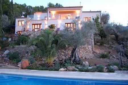 Beautiful villa with breathtaking views |Mallorca - Banyalbufar