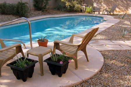 SUNNY AZ Home with Private Pool! - Queen Creek