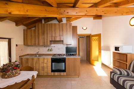 Cozy apartment only 100 mt to Lake - Pieve di Ledro