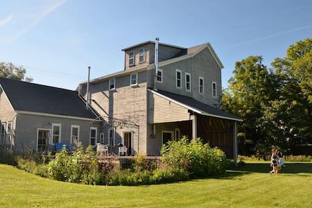 Bohemian-Style Converted Grain Mill - Bovina Center - House