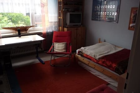 Nice quiet room in 2 storey-flat - Munich