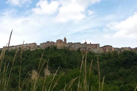 Lovely flat in medieval village