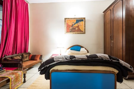 Cosy Room for Single Travelers - Neu-Delhi - Haus