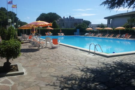 Cozy apartment with garden and pool - Montalto Marina