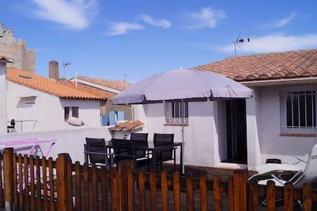 petite maison sur toit terrasse