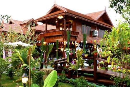 Large family room in the heart BKK - Don Mueang - Villa