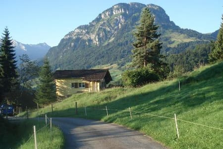 comfortable cottage in the alps - Vorderthal - Zomerhuis/Cottage