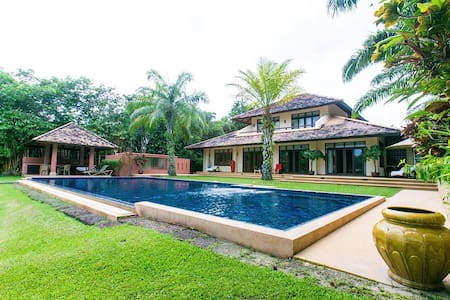 3+1 luxury villa w/salt water pool - Villa