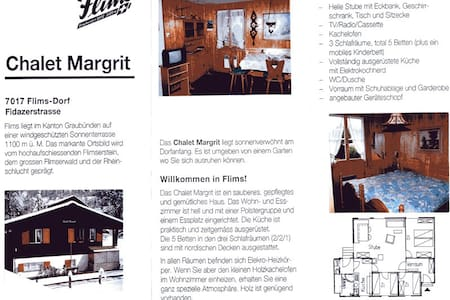 Chalet Margrit - Bungalow