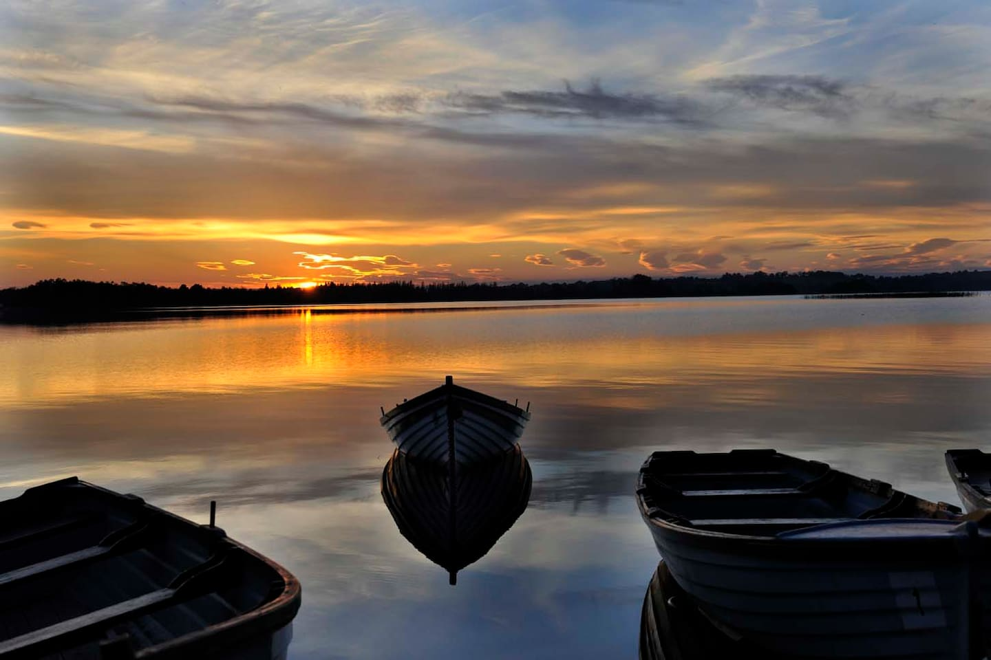 Beauty and Serenity Nestled in the Heart of Ireland Lough Ennell.