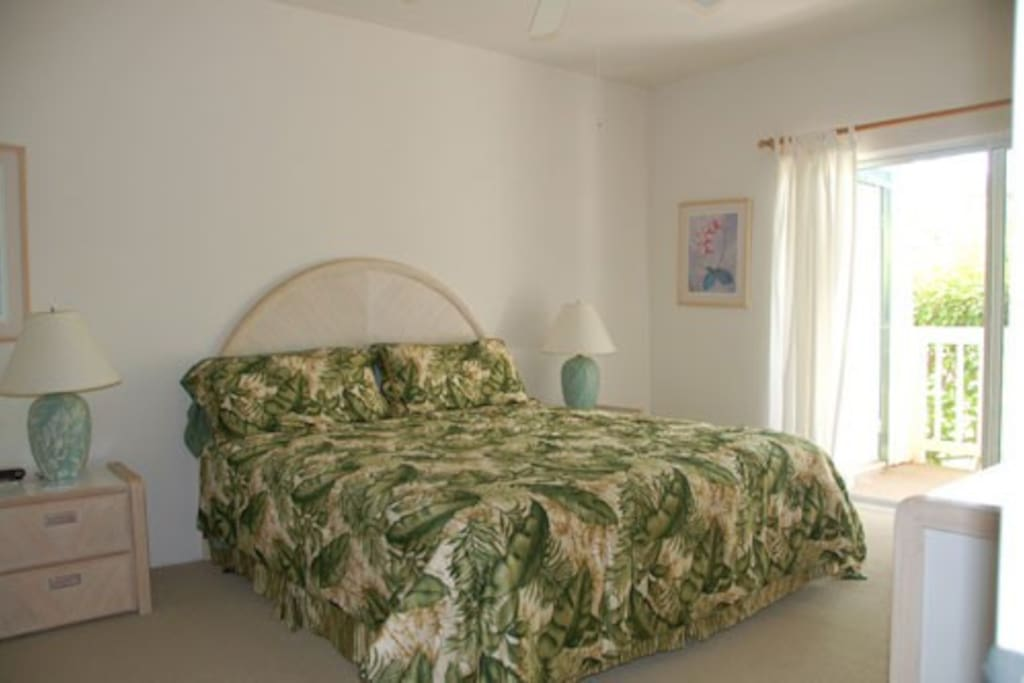 Master suite with private bath and double sinks and lanai...