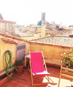 Two-floored flat with terrace in the heart of Aix - Aix-en-Provence - Apartment