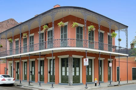 FrenchQtr Mansion w Largest Balcony