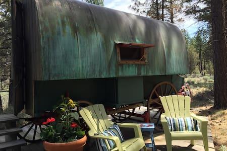 Cozy Vintage Basque Sheep Wagon - Camper/RV