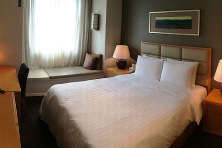 private room & bath in modern 5* apartment - Beijing - Apartment