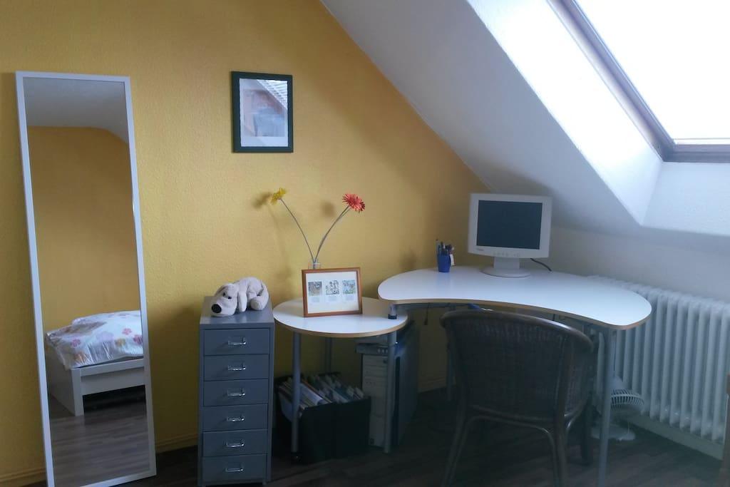 ruhiges Zimmer mitten in Hannover