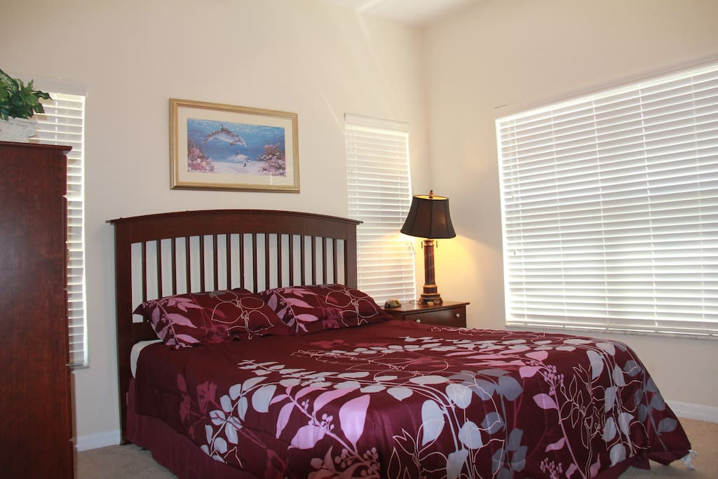 Downstair master bed room