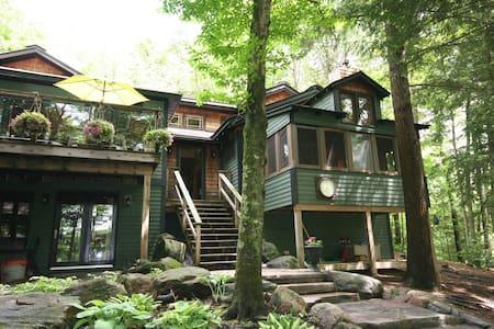 Serene Moon River Cottage & Bunkie - Cabin
